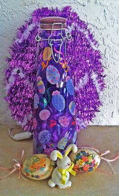Decorative Easter Bottle