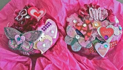 Decorated River Rocks