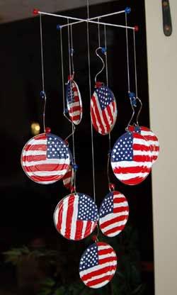patriotic mobile craft