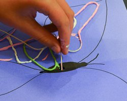 painted string art