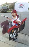 Pirate in his Ship Costume