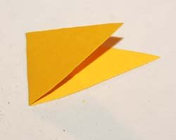 triangle for flag