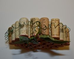 curly wire on top of corks