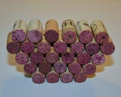 layered corks